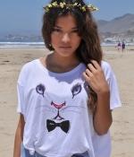 Aria's rabbit shirt by Royal Rabbit at Royal Rabbit