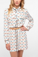 Aria's shirtdress at Urban Outfitters at Urban Outfitters