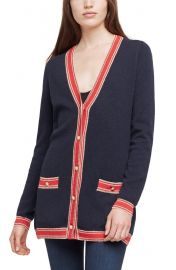 Ariel Stripe Wool & Cashmere Cardigan at Nordstrom