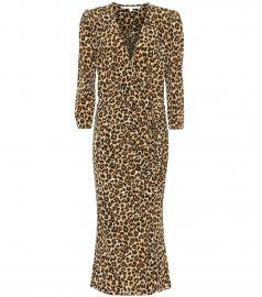 Arielle stretch-silk midi dress at Mytheresa