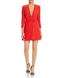 Armani Cinched-Front Dress Women - Bloomingdale s at Bloomingdales