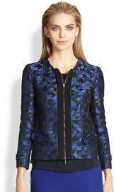 Armani Collezioni - Harlequin Jacquard Jacket at Saks Fifth Avenue