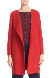 Armani Collezioni Double Face Wool   Cashmere Coat at Nordstrom