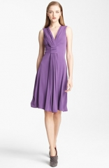 Armani Collezioni Draped Jersey Dress at Nordstrom
