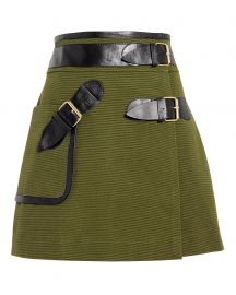 Army Wrap Mini Skirt by Derek Lam 10 Crosby at Intermix