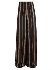 Arneau Striped Satin Trousers by Roksanda at Matches