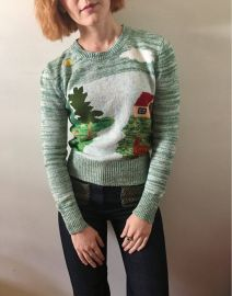 Arpeja vintage sweater at Etsy
