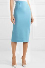 Arreton wool-crepe pencil skirt at Net A Porter