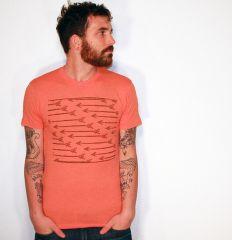 Arrows Pattern Shirt at Dark Cycle Clothing