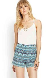 Art Deco Shorts at Forever 21