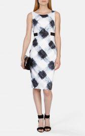 Art Print Stretch Dress at Karen Millen
