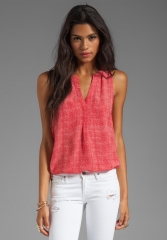 Aruna top in Poppy by Joie at Revolve