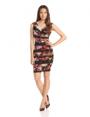 Aryn K Floral Dress at Amazon