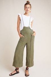 Asha Bib-Front Utility Overalls at Anthropologie