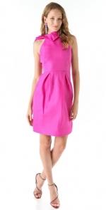 Ashleys hot pink dress at Shopbop