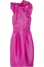 Ashleys pink dress at Net a Porter at Net A Porter