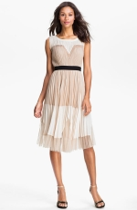Ashleys pleated dress at Nordstrom