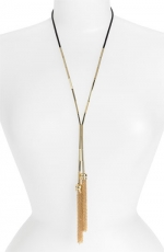 Ashleys tassle necklace on Revenge at Nordstrom at Nordstrom