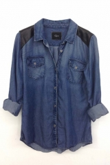 Ashlyn Denim Shirt by Rails at The Trend Boutique