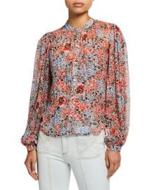 Ashlynn Blouse by Veronica Beard at Bergdorf Goodman