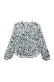 Ashlynn Floral Print Silk Blouse by Veronica Beard at Nordstrom Rack