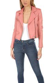 Ashville Leather Jacket at Blue & Cream