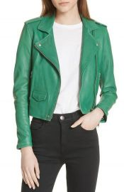 Ashville Leather Jacket by IRO at Nordstrom