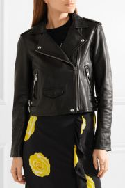 Ashville leather biker jacket at Net A Porter