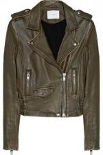 Ashville moto jacket by IRO at Net A Porter at Net A Porter