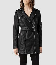 Asker Biker Jacket at All Saints