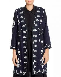 Aster Embroidered Open Coat by Kobi Halperin at Bloomingdales