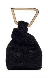Astraea Faux Fur Top Handle Bag by Cult Gaia at Moda Operandi