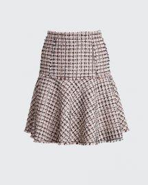 Astrid Tweed A-Line Skirt at Bergdorfgoodman