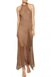 Asymmetric Crochet Knit Midi Dress by Bailey 44 at Nordstrom