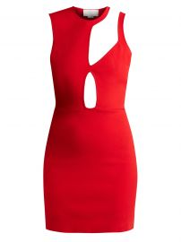 Asymmetric Cut-Out Knit Mini Dress by Esteban Cortazar at Matches