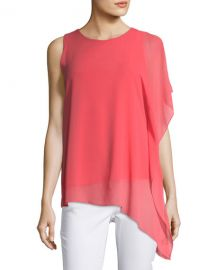 Asymmetric Drape Top at Last Call