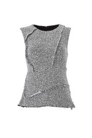 Asymmetric Frayed Bouclé Top by 3.1 Phillip Lim at Rent The Runway