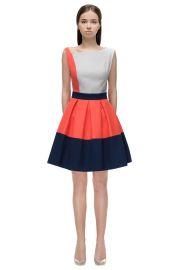 Asymmetric Shoulder Line Dress Lattori at Lattori