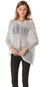 Asymmetric sweater by Helmut Lang at Shopbop