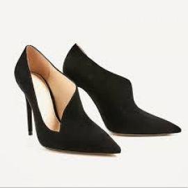 Asymmetrical Heels at Zara