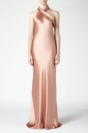 Asymmetrical Silk Bias Cut Dress by Galvan at Orchard Mile