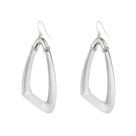 Asymmetrical Wire Earring at Alexis Bittar