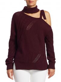 Asymmetrical Wool-Blend Sweater at Saks Fifth Avenue