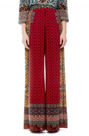 Athena Pattern Mix Wide Leg Pants by Alice  Olivia at Nordstrom