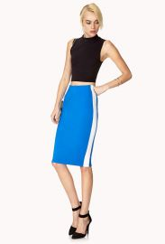 Athletic inspired pencil skirt at Forever 21