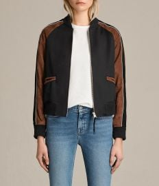 Atley Bomber Jacket by All Saints at All Saints