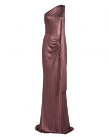 Attention Seeker One-Shoulder Gown at Intermix