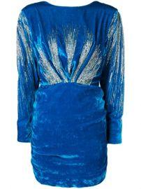 Attico Sequin Embellished Dress at Farfetch