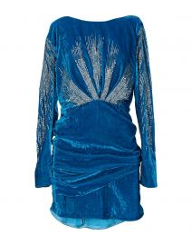 Attico Sequin Embellished Dress at Yoox