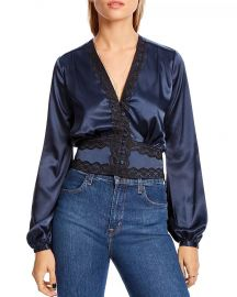 Audrey Lace-Trim Top by Lini at Bloomingdales